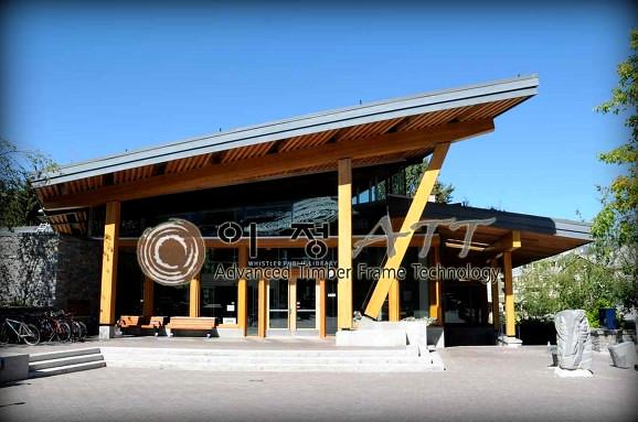 Whistler library House exterior design photo library