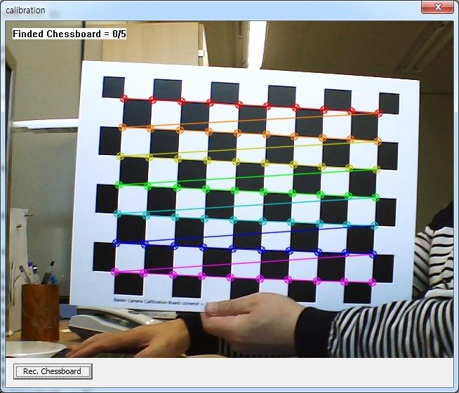 OpenCV Camera Calibration 프로그램