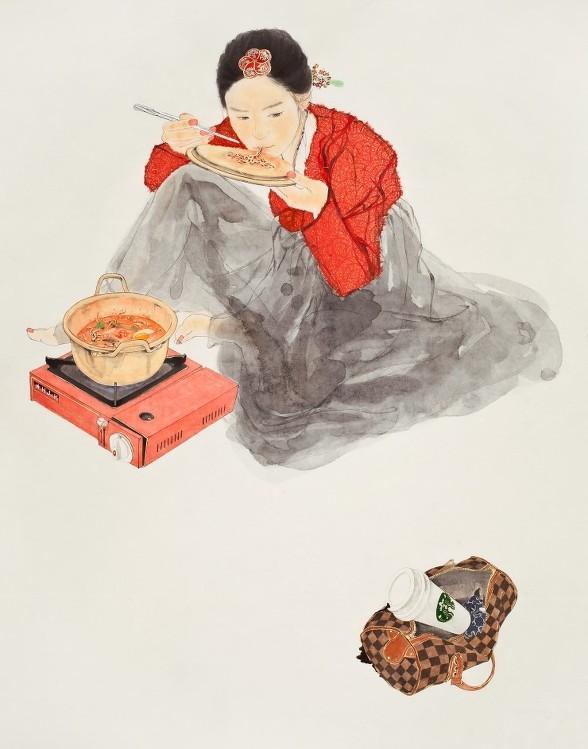 . 한국화가 김현정