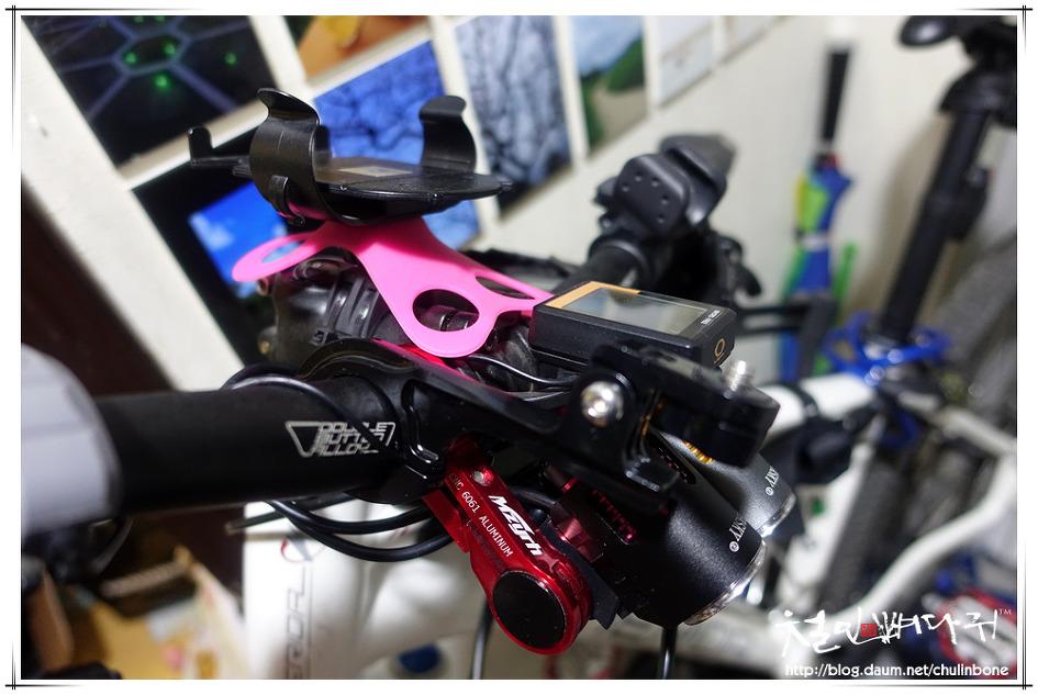 액션캠 자전거마운트