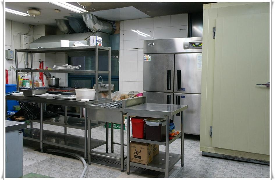 주방의 모습