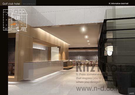 호텔 인테리어설계 디자인 _인테리어설계외주 , 대행, 용역, 아웃 ...