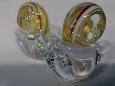 유리공예 글라스 블로잉 달팽이