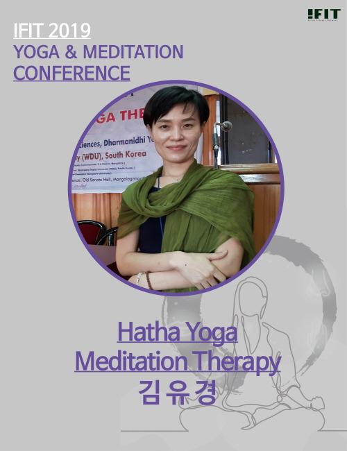 IFIT 2019 피트니스 컨밴션 -김유경- Hatha Yoga Meditation Therapy