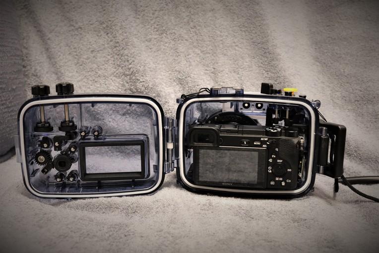 Seafroge 방수케이스 와 Sony a6500+35mm(1.8)