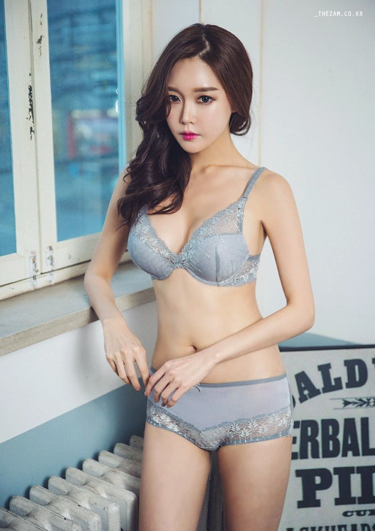 hot Korean in lingerie